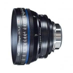 1793-056 Compact Prime CP.2 35mm / T2,1 T PL Mount Lens - metric