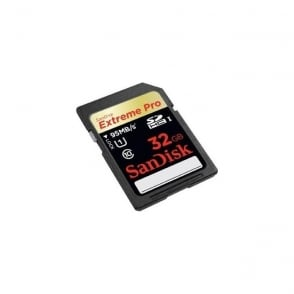 SDSDXPA-032G-X46 32GB Extreme Pro SDHC Memory Card - 95mb/s