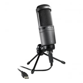 At2020Usb USB cardioid condenser microphone