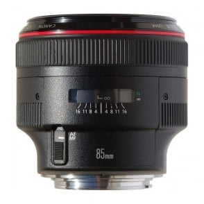 EF 85mm f/1.2L II USM fixed focal length lens
