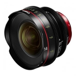 CN-E 14mm T3.1 L F EF mount Digital Cinema Prime Lens