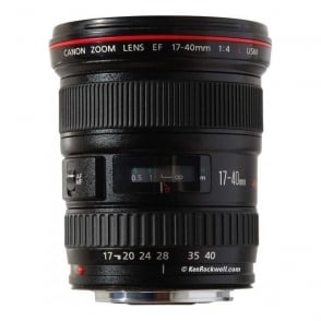 EF 17-40mm f/4L UsM Ultra Wide Angle Zoom Lens