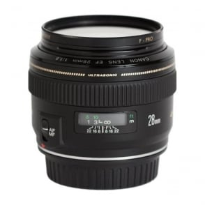 EF 28mm f/1.8 UsM Aspherical Lens