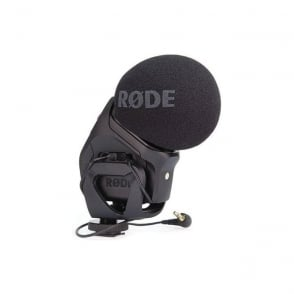 Stereo VideoMic Pro Stereo X-Y Condenser Microphone