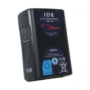 IDX DUO-150 14.8V 146Wh Rechargeable Lithium Ion Battery+2 x DTap+USB