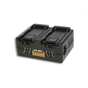 DV-MC2 Sony NP-F Battery Charger — 2-Channel Simultaneous
