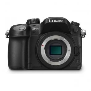 PAN-DMCGH4EBK GH4 Lumix G-Compact System Cam. DSLM-Body only