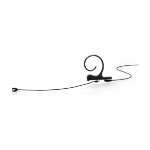 DPA FIOB00 d:fine Single-Ear Omni Headset Mic, Black, 110 mm Boom, MicroDot