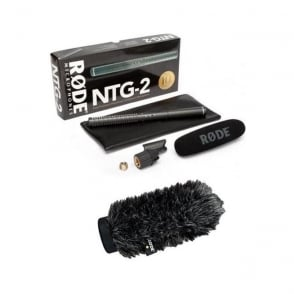 Rode NTG2 Microphone Package A