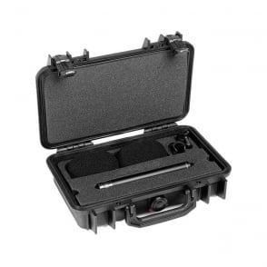 ST4011A, ST4011 A, ST4011-A, ST4011/A Stereo Pair w. 2 x 4011A, Clips, Windscreens in Peli Case
