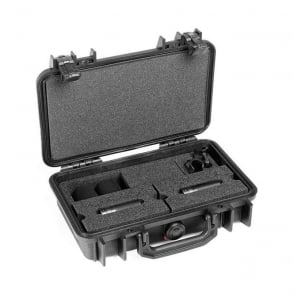 ST4011C, ST4011 C, ST4011-C, ST4011/C Stereo Pair w. 2 x 4011C, Clips, Windscreens in Peli Case
