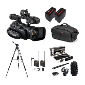 canon xf100 package e