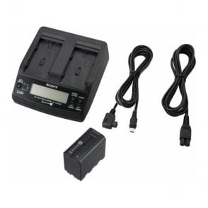 Sony ACC-L1BP np-f970 battery and ac-vq1051d adaptor/charger kit