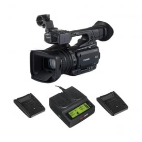 XF200 Compact HD Camcorder with a charger package a