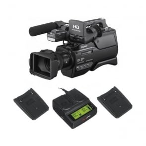 Sony HXR-MC2500E HD / SD NXCAM AVCHD Camcorder with the charger package a