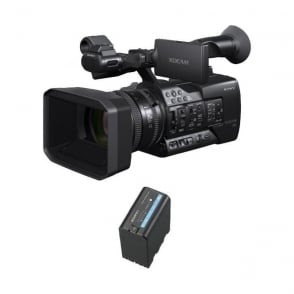 Sony PXW-X180 Camcorder with 25x Zoom Lens package a