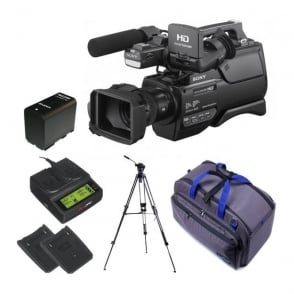 HXR-MC2500E HD / SD NXCAM AVCHD Camcorder package d