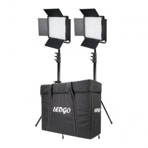 Datavision LG-600LK2 2x LG-600SC Daylight Location Lighting Kit