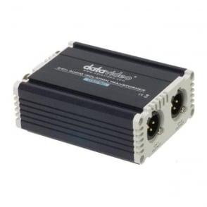 Datavideo DATA-DAC80 2 Channel Audio Isolation Transformer