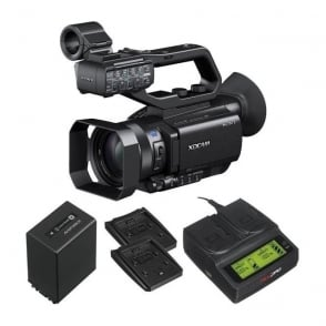 PXW-X70 XD Camcorder 4k featured with battery and a charger package b