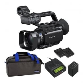 PXW-X70 XD Camcorder 4k featured with battery, bag and a charger package c