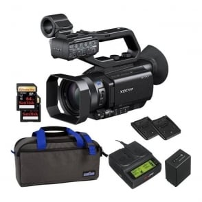 PXW-X70 XD Camcorder 4k featured package d