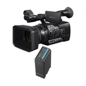 Sony PXW-X160 XDCAM with 25x Zoom lens Camcorder plus battery package a