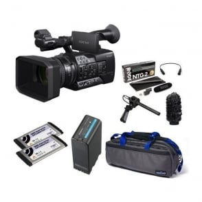 Sony PXW-X160 XDCAM with 25x Zoom lens Camcorder package d