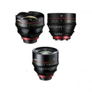 CN-E Kit 14/35/135mm CN-E Prime Lens 3 Set 14,35 and 135mm