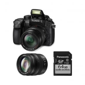 DMC GH4 lumix G Compact Camera DSLM Package D