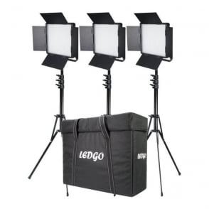 Datavision LG-600LK3 3x LG-600SC Daylight Location Lighting Kit
