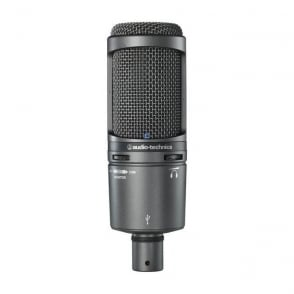 Audio-Technica AT2020USBPLUS Cardioid Condenser USB Microphone