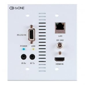Tv One TV1-1T-CT-653USWP CT653 Transmitter Wall Plate