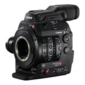 Canon EOSC300MKII EOS C300 Mark II 4K EF Mount Video Camera