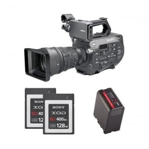 PXW-FS7K 35mm XDCAM Camera with Lens Package A with free RedPro battery