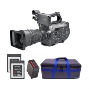 PXW-FS7K 35mm XDCAM Camera with Lens package B with free RedPro battery