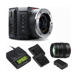 BMD-CINSTUDMFT/UHD/MR Micro Studio Camera 4K Package B