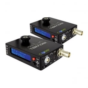 Teradek TER-CUBE106/306 1ch HD-SDI Encoder/ Decoder Pair with Power Over Ethernet