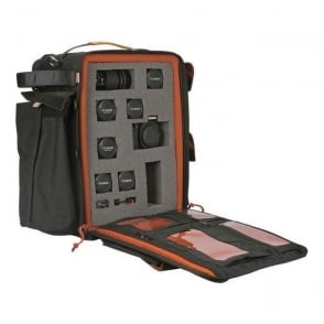 Portabrace BC-2NRF DSLR Backpack with Cubed Foam Interior, Black