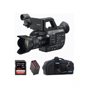 Sony PXW-FS5K super 35mm camcorder XDCAM with lens package b