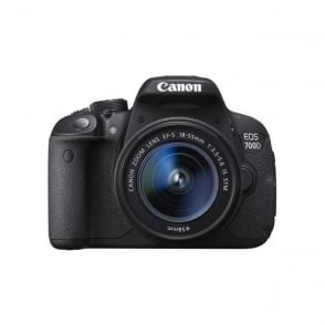 Canon EOS 700D camera with 18-55mm f/3.5-5.6 IS STM Lens