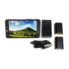 SmallHD SHD-MON702BLPKIT 702 Bright and LP-E6 Battery Kit