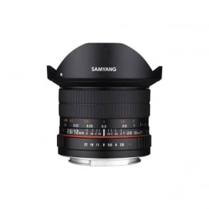 Samyang 7472 12mm F2.8 ED AS NCS Fisheye Lens Sony E Mount