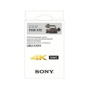 Sony CBKZ-X70FX 4K Upgrade License for PXW-X70
