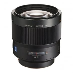 Sony SAL135F18Z.AE 135mm f/1.8 Carl Zeiss T* Telephoto Prime Lens