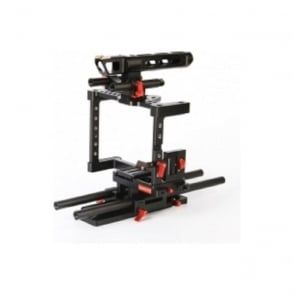 CAME-TV ZBTL01 DSLR Cage Rigs For GH4 & SONY A7s & 5D Mark III