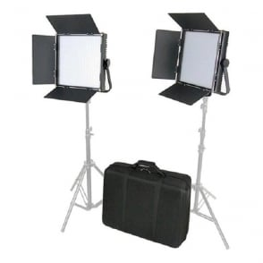 Came L1024S2KIT High CRI Bi-Color 2 X 1024 LED Video LightsTV Lighting
