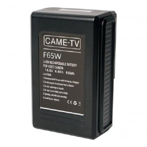 Came F65W Compact V-Mount Li-Ion Battery 65Wh