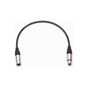 Digibroadcast 12inch 3Pin Male to Female Xlr Cable