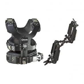 LBVL4A 2.5-15kg Load Pro Camera Steadicam Vest+ Dual Arm